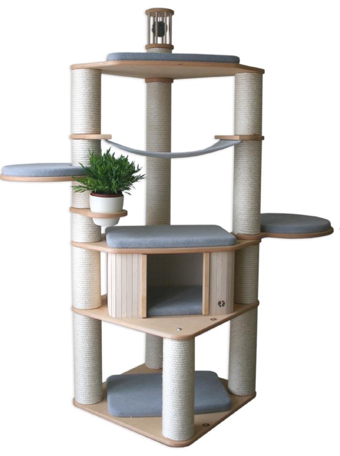 kratzbaum selber bauen anleitung ihr traumhaus ideen. Black Bedroom Furniture Sets. Home Design Ideas