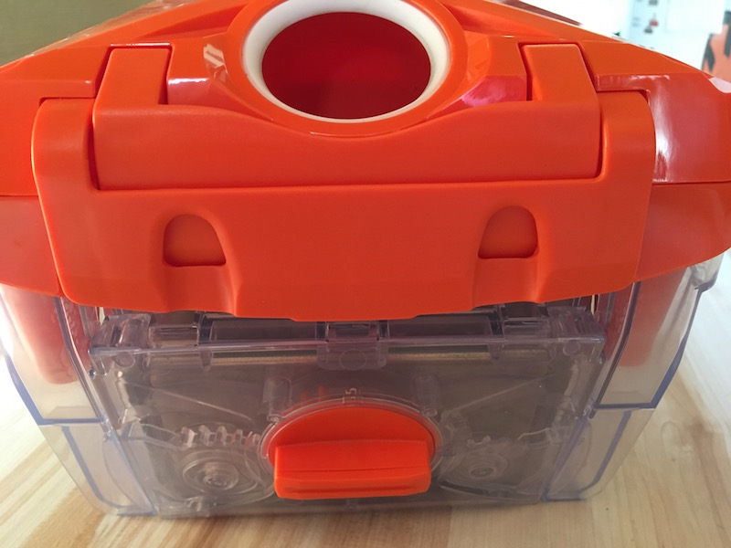 Orange Box Staubsauger