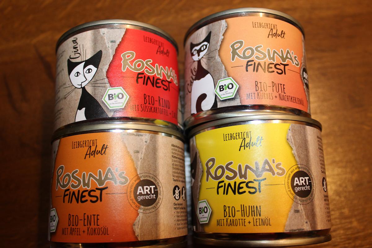 Dosen von Rosina's Finest