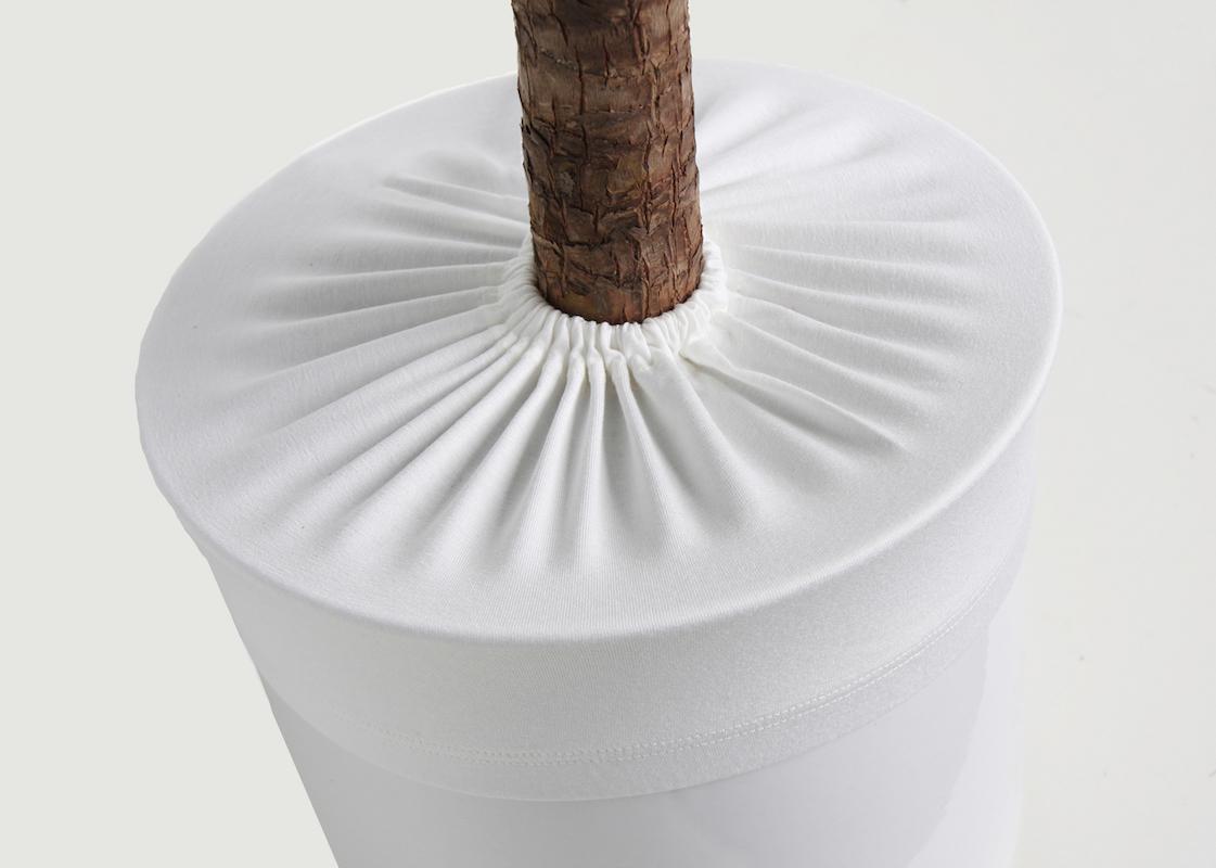 Blumentopfschutz weiß